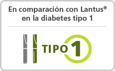 Tresiba® vs Lantus® en la diabetes tipo 1.